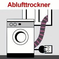 Abluft Trockner
